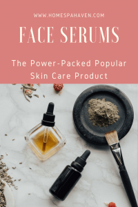 face serum pin