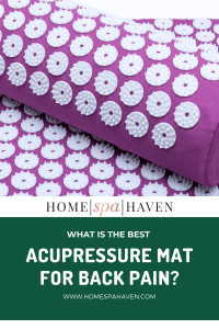 acupressure mat for back pain