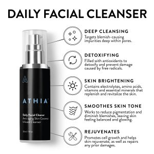 athia daily facial cleanser